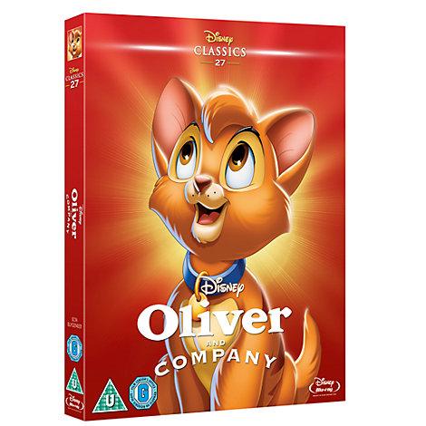 Oliver & Company Blu-ray