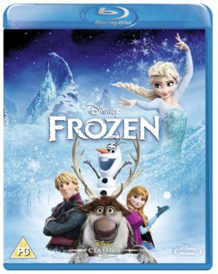 Frozen Blu-ray