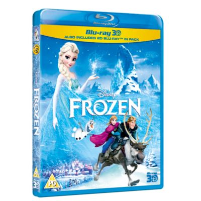 Frozen 3D + 2D Blu-ray