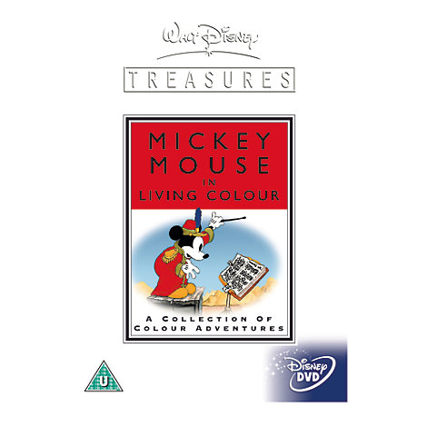 Mickey in Living Colour DVD