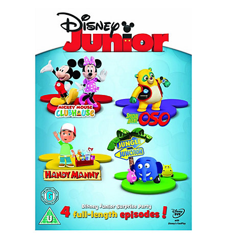 Disney Junior Surprise Party DVD