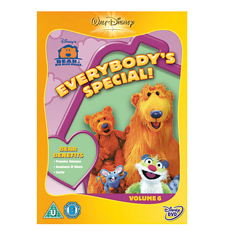 Bear In The Big Blue House - Everybody's Special DVD