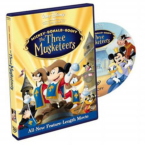 Three Musketeers - Mickey, Donald and Goofy DVD