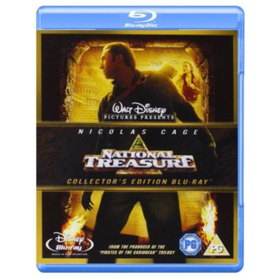 National Treasure Blu-ray