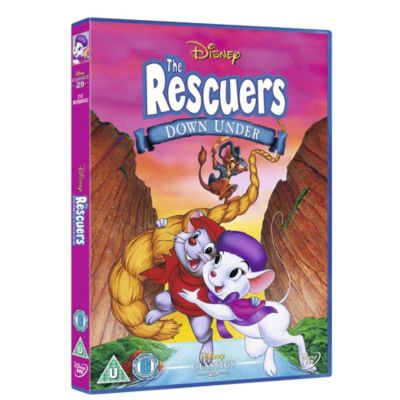 Rescuers Down Under CD