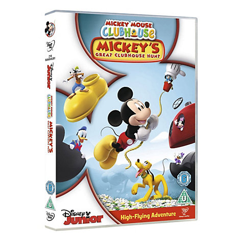 Mickey Mouse Clubhouse - Mickey's Great Clubhouse Hunt DVD