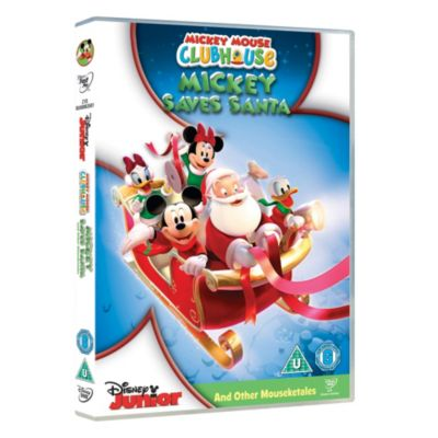 Mickey Mouse Clubhouse: Mickey Saves Santa & Other Mouseketales DVD
