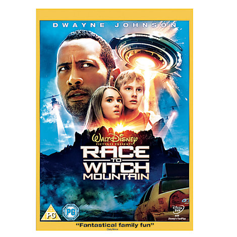 Race to Witch Mountain DVD