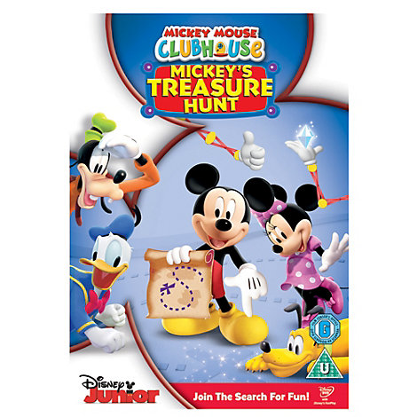 Mickey Mouse Clubhouse: Treasure Hunt DVD
