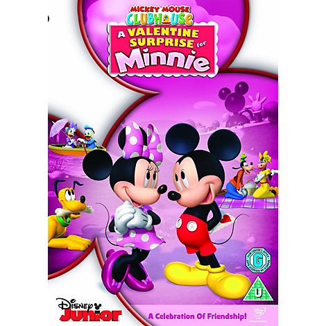 Mickey Mouse Clubhouse: A Valentine Surprise for Minnie DVD