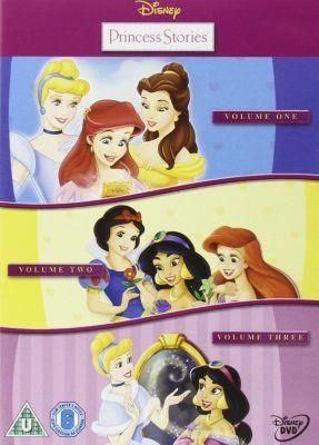 Princess Stories Vols 1-3 Triple Pack DVD Box Set