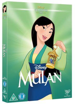 Mulan Musical Masterpiece DVD