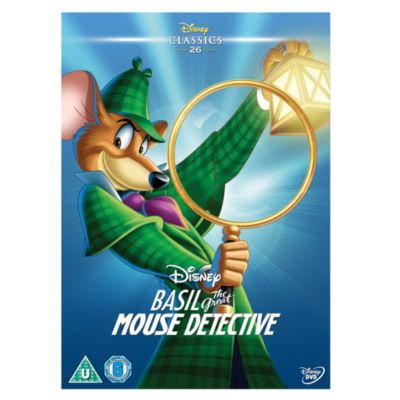 Basil The Great Mouse Detective DVD