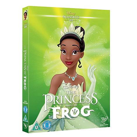 Princess & the Frog DVD