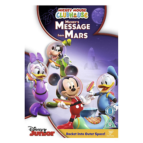 Mickey Mouse Clubhouse: Message from Mars DVD