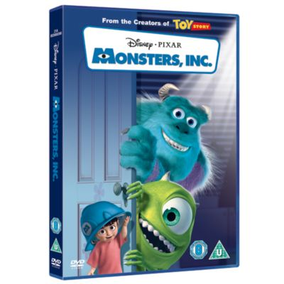 Monsters Inc. DVD