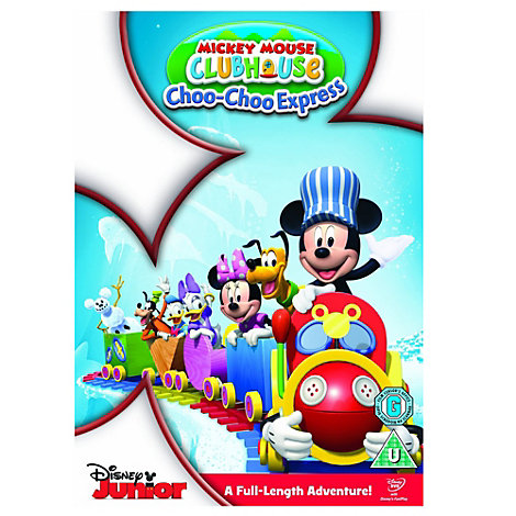 Mickey Mouse Clubhouse: Mickey's Choo Choo DVD