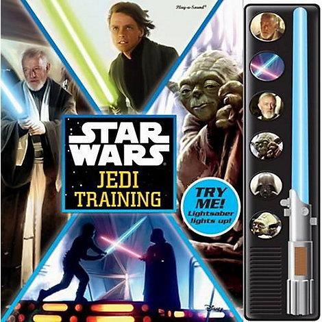 Star Wars Jedi Training Book - with Mini Lightsaber