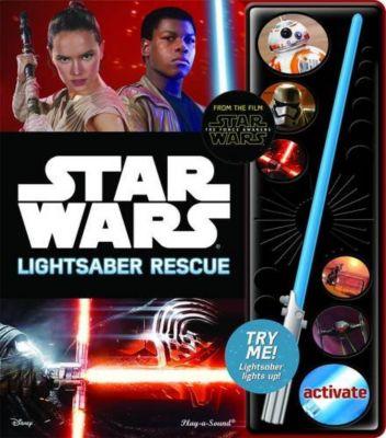 Little Sound Book Lightsaber Star Wars The Force Awakens Lightsaber Rescue