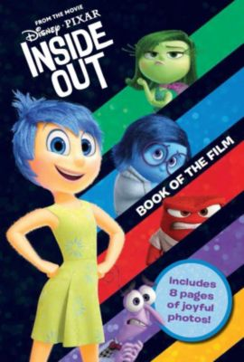 Disney Pixar Inside Out Book of the Film