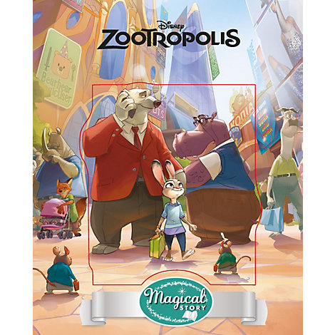 Disney Zootropolis Magical Story with Lenticular