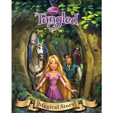 Disney Tangled Magical Story with Lenticular
