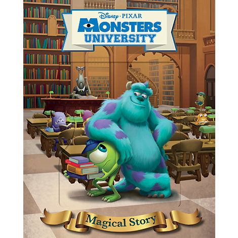 Disney Monsters University Lenticular Magical Story
