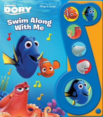 Finding Dory Little Music Note Book