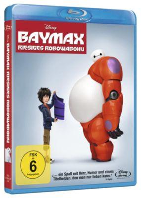 BAYMAX - RIESIGES ROBOWABOHU (Blu-ray)