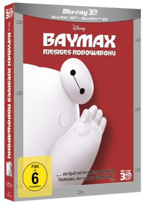 BAYMAX - RIESIGES ROBOWABOHU (3D Blu-ray)