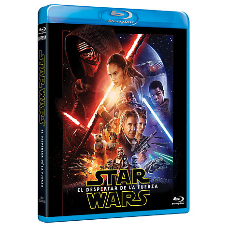 Star Wars: El despertar de la fuerza Blu-ray