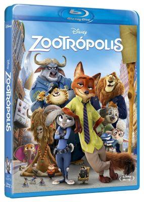 Zootrópolis Blu-Ray