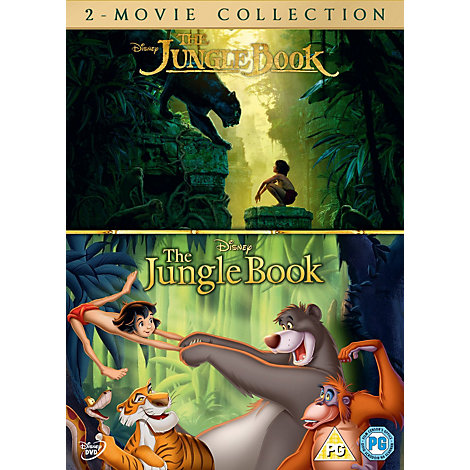 The Jungle Book - 2 Movie Collection DVD