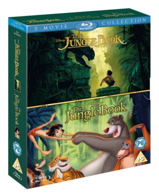 The Jungle Book - 2 Movie Collection Blu-ray