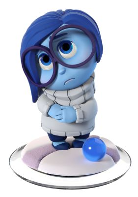 Disney INFINITY 3.0 Interactive Game Piece, Sadness