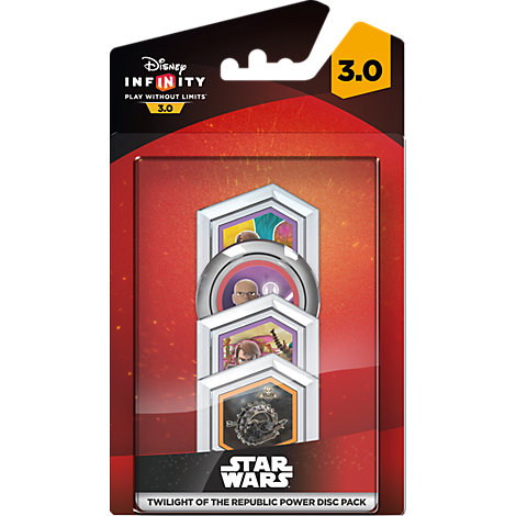 Disney Infinity 3.0: Star Wars Twilight of the Republic Power Disc Pack