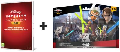 Disney Infinity 3.0: Twilight of the Republic Play set bundle - PS4
