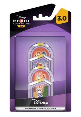 Disney INFINITY 3.0 Zootropolis Power Disc Pack