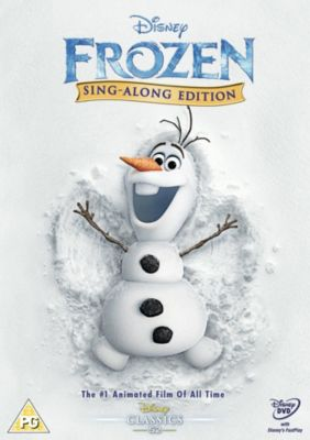 Frozen Sing-a-long Edition DVD