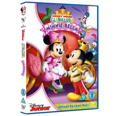 Mickey Mouse Clubhouse : Minnie-Rella DVD