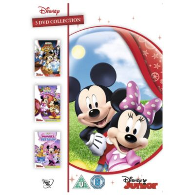 Mickey Mouse Clubhouse Triple DVD Boxset