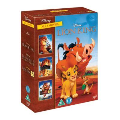 The Lion King 1-3 DVD Boxset