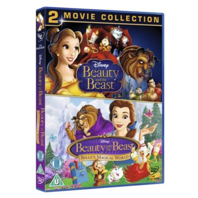 Beauty & the Beast and Duo Pack DVD