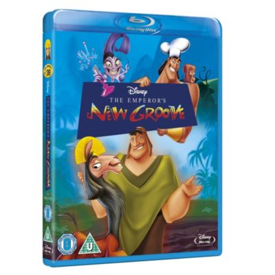 Emperors New Groove Blu-ray