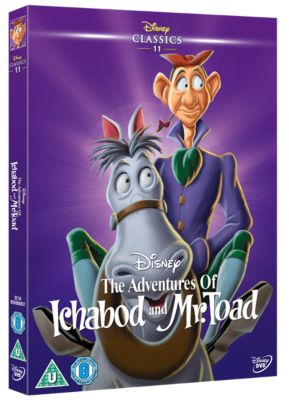 Ichabod & Mr Toad DVD