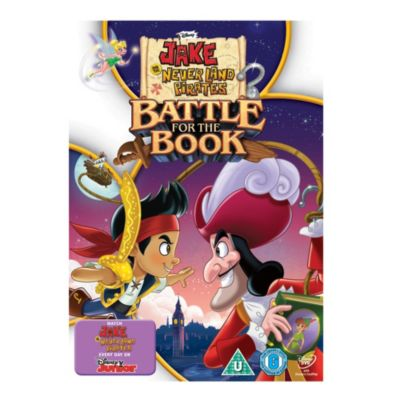 Jake & the Never Land Pirates: Battle for the Book DVD