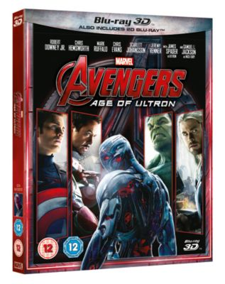 Age of Ultron 3D Blu-ray