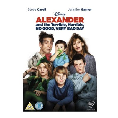Alexander & the Terrible, Horrible, No Good, Very Bad Day DVD