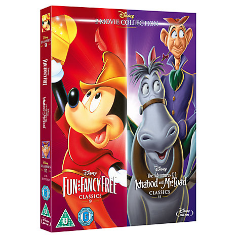 Fun & Fancy Free / Ichabod and Mr Toad Blu-ray