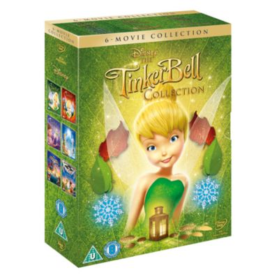Tinker Bell 6 Movie Boxset DVD